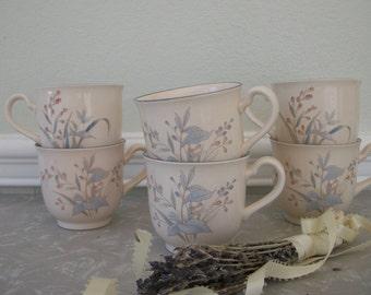 Vintage Noritake Keltcraft Coffee Tea Mugs cups 9109 Kilkee Made in Ireland