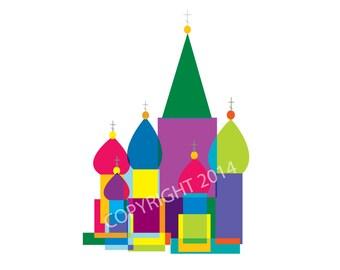 Russian Orthodox Church Mod-ish