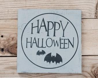 Happy Halloween Sign fall sale FALL SALE