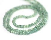 Alexandrite Micro Faceted Rondelles 10 Pieces 2.5 MM Rare Natural Green Blue/Plumy Purple Color Shift Exotic Gemstone