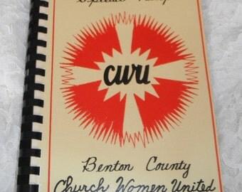 Special Recipes SWU Benton County Church Women United Vintage Cookbook