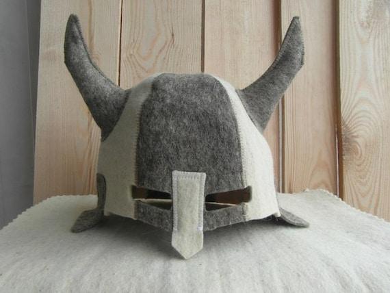 gefilzte cap filz hut f r russische sauna wikinger von ingryda123. Black Bedroom Furniture Sets. Home Design Ideas