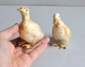 Vintage Spun Cotton Ducks - Ornaments