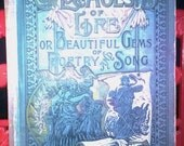 Book Echoes of Life or Beautiful Gems of Poetry and Song circa 1891