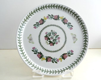 Vintage Portmeirion Botanic Garden Buffet Dinner Plate 10.5 inch rhododendron lepidotum
