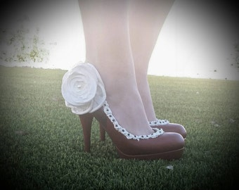 Red Bridal shoes/  Red Velvet Wedding Cake heels/Red Heels/Dessert Shoes/Wedding Shoes/Red Wedding Shoes/Red Velvet Cake