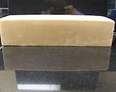 Soap Loaf --Fresh Ginger Lime  Goat Milk Soap
