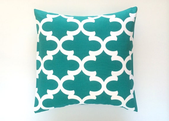Jade Decorative Pillows : CLEARANCE 50% OFF Jade Green Decorative Throw Pillow Cover.