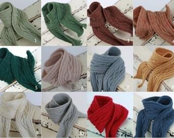 Miss yo twist pattern long scarf for Blythe doll / Yo SD / 1/6 BJD - doll outfit - 12 colors in