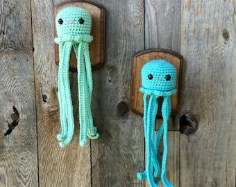 Crochet Taxidermy Jellyfish