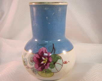 "Rare c1883 - 1886 New England Pottery Co. Boston, Ma Stoneware 5"" Vase"