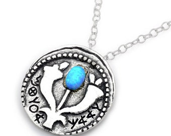LUCK and BLESSING spiritual pendant