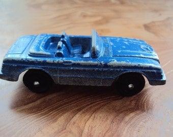 Vtg. Tootsietoy Blue Mercedes 450SL  BENZ