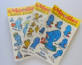 Vintage Moodies Super Stickers 1983