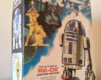 Star Wars R2-D2 Model Kit 1977