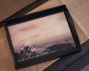 Handcrafted Serving Tray - Scripture Fine Art Photography