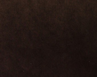 Coffee Bean Ultrasuede Fabric for Bead Embroidery 8.5x8.5 square Microsuede Chocolate Brown
