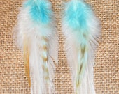 Feather Earrings - Angel Wings
