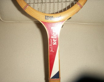 Wilson Select vintage Jack Kramer wooden tennis racket from the 70's great condition