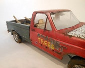 Scale Model Ford Pickup Truck in Red by Classicwrecks