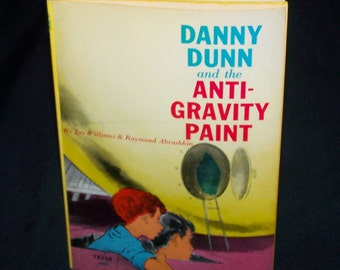 Vintage Children's Book - Danny Dunn and the Anti-Gravity Paint - 1969