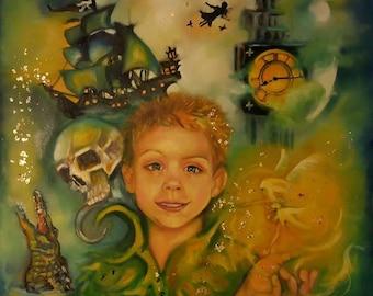 24x24 Custom Portrait fairy tale