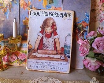 Good Housekeeping Print for Dollhouse