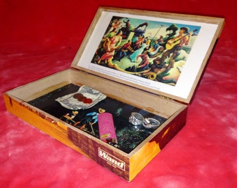 On the Waterfront Stash Box, One-of-a-Kind Grateful Dead Artwork