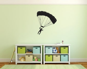 Skydiving Adventure Wall Decal
