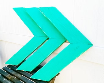 Distressed Wood Arrow/Chevron Wall Decor - 3pc