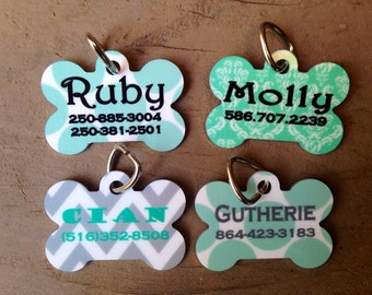 Personalized Pet Dog Tag- Design Your Own
