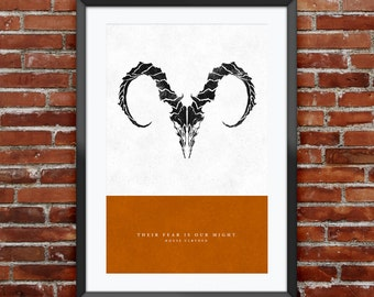 "Game of Thrones - House Ulryden print 11X17"""