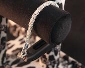 Gold Filled Byzantine Bracelet for Fitbit Flex