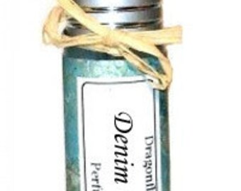 DENIM & LACE -  Roll on Premium Perfume Oil - 2 sizes to choose from - 1/3 oz or 1/6 oz - Fresh Breeze - Lemon Lime - Lily Woods Amber Musk