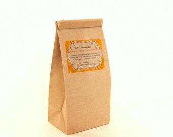 Lemongrass + orange laundry soap - handmade laundry soap. Vegan. Choose 1 lb or 3 lb bag.  Handmade in Connecticut w/essential oil.