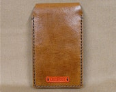 A7 Notebook with reusable, real Italian leather cover. Free UK delivery.