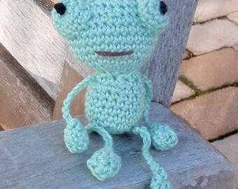 Frog PDF pattern crochet amigurumi