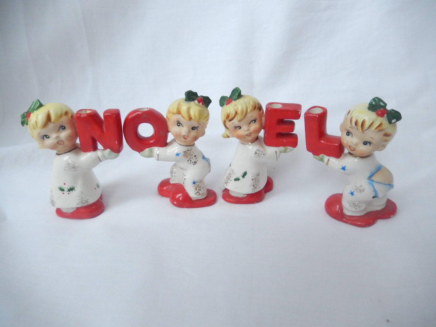 Napco noel figurines vintage christmas decor