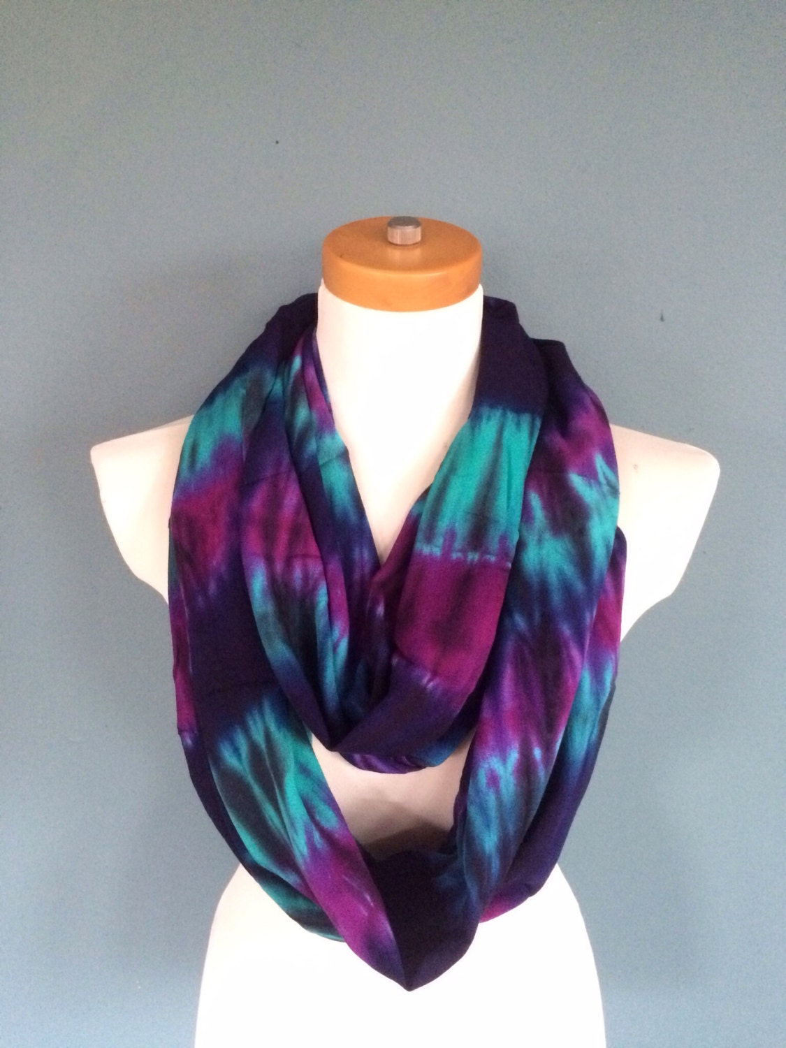 colorful infinity scarf chunky scarf loop scarf by
