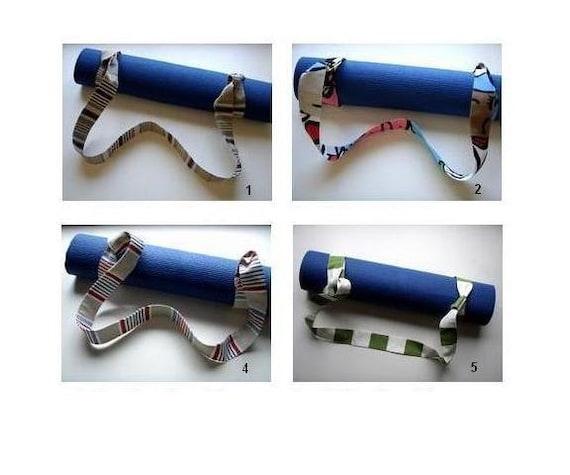 Yoga Mat Strap Handmade Babimini