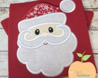 Sweet Santa Claus Applique Machine Embroidery Design Buy 2 for 4! Use Coupon Code 50OFF