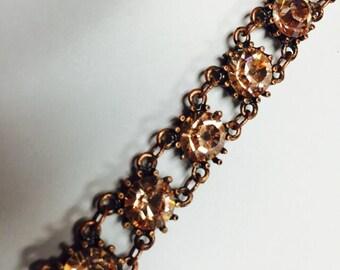 Classic bracelet in peach