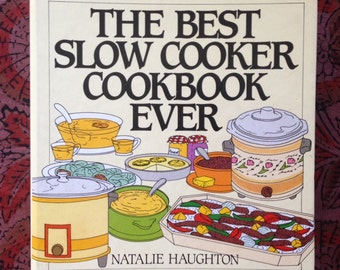 Vintage Book : The Best Slow Cooker Cookbook Ever