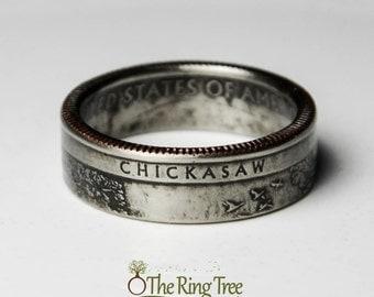 Chickasaw National Park Quarter Ring