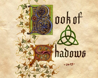 The Complete Charmed Book of Shadow Pages (over 735 pages)
