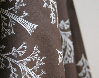 """Organic """"Tall Pines"""" Fabric by designer Monaluna from the Westwood Collection - ONE FAT QUARTER  Cut"""
