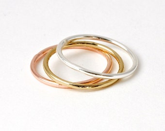 STACK >> silver ring << super thin layer or stack << hell, wear it on your toe if it fits