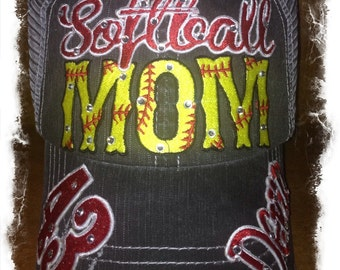 Softball or Fast pitch Mom Hat