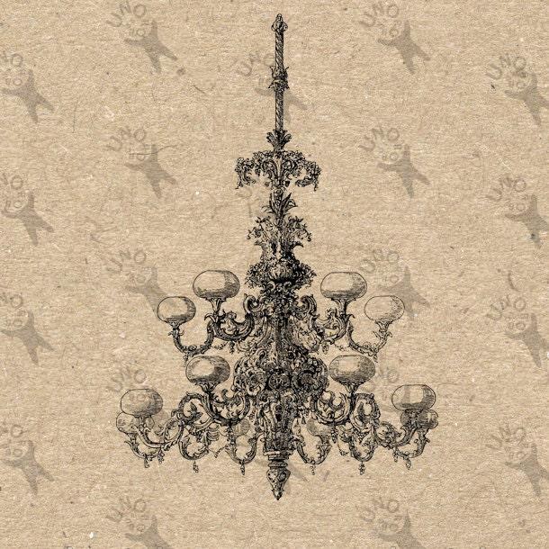 image vintage lustre plafond lampe noir et blanc r tro dessin. Black Bedroom Furniture Sets. Home Design Ideas