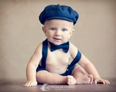 Baby Boy, Cake Smash Outfit, Boy Photo Prop, Baby Photo Outfit, First Birthday, Easter Outfit, Newsboy Outfit, Birthday Outfit, Navy